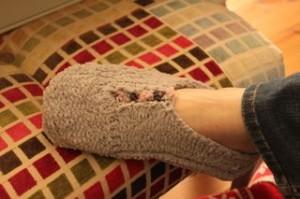 Woolly Knitted Socks