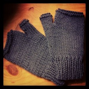 Crafty Chai Knitted Mittens