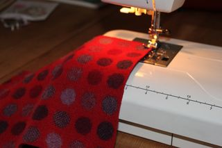 Sewing on my Machine