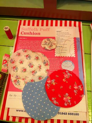Suffolk Puff Making at Cath Kidston