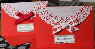 Crafty Chai Snowflake Christmas Cards