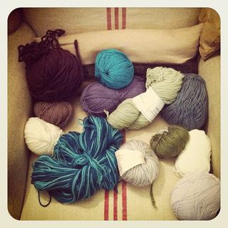 Crafty Chai Wool Stash