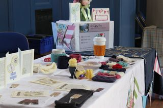 My craft stall