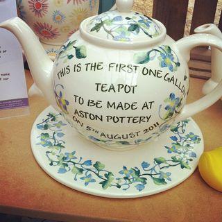 Aston Pottery Teapot