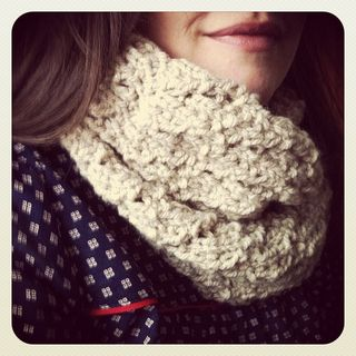 Handknitted snood