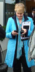 Clare Balding at Wimbledon
