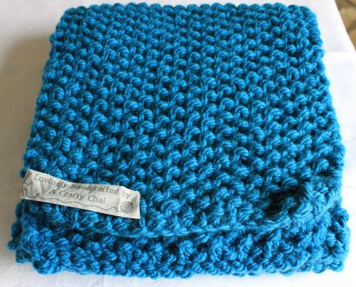 moss stitch A Crafty Chai