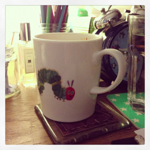 Hungry Caterpillar mug