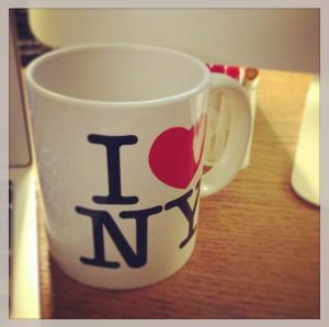 I Heart NY mug