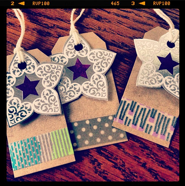 Christmas Star tags