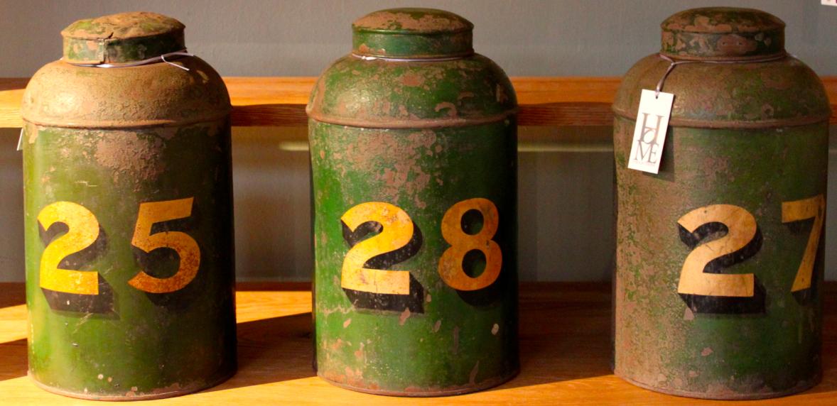 Vintage Cans
