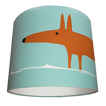 Mr Fox Lamp Shade