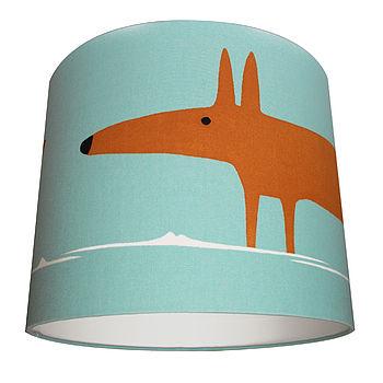 Mr Fox Lamp Shade
