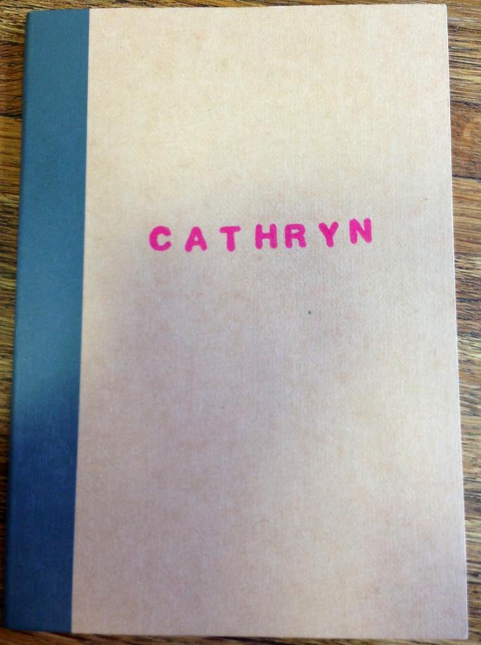 cathryn notebook