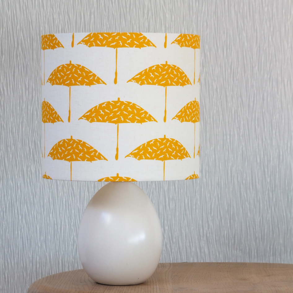 Bird Brolly Lamp Shade