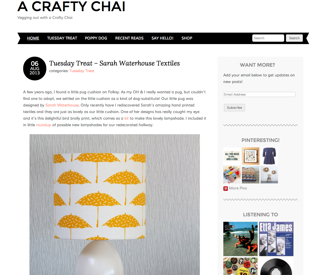 A Crafty Chai on Bloglovin