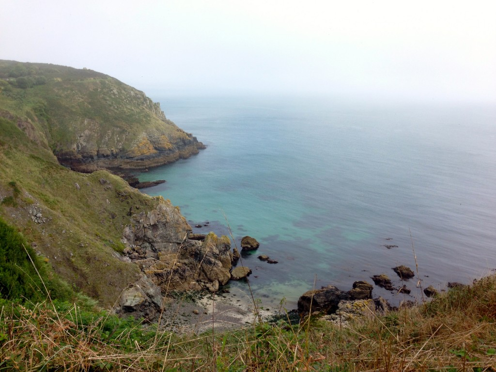 Cornish coast