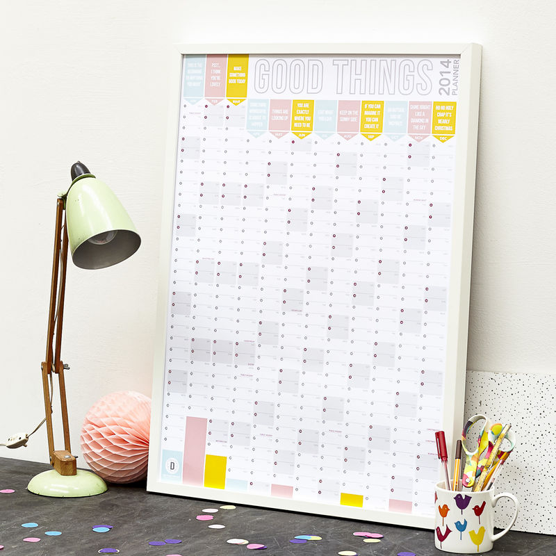 Doodle Love wall planner