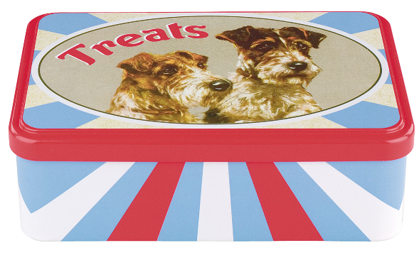 Poppy treat tin