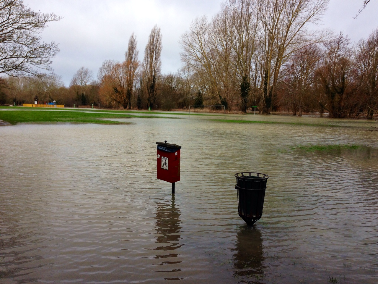 Flooded Abingdon