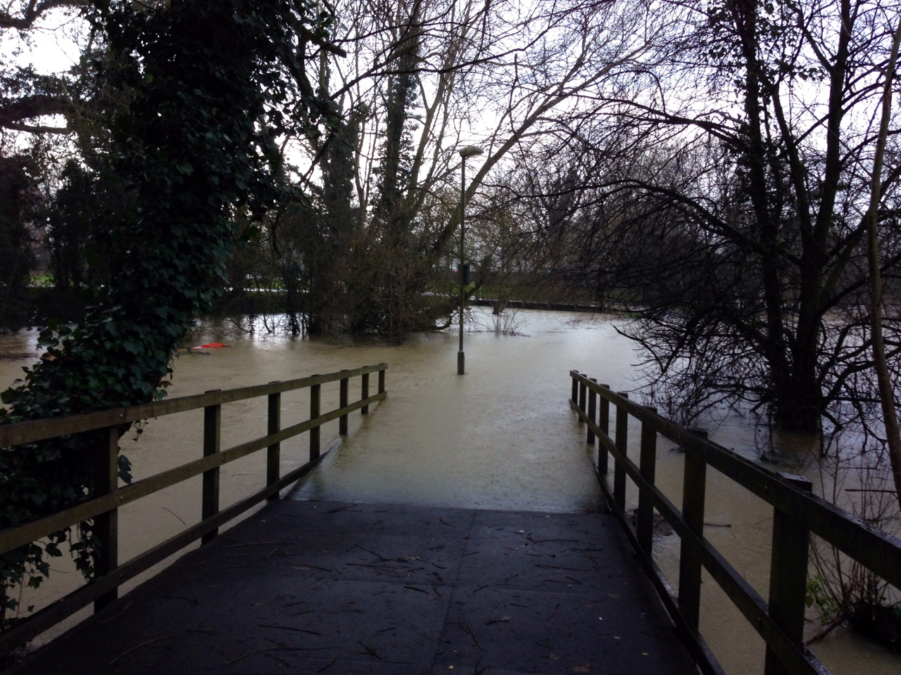 Flooded Ock walk