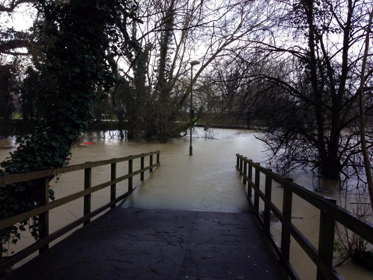 Flooded Ock walk