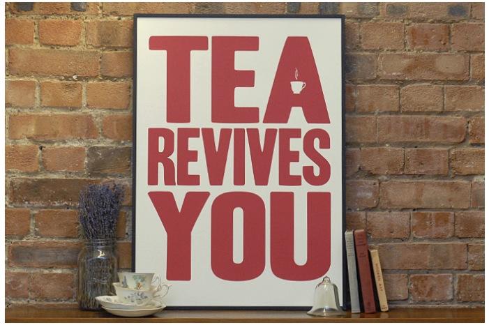 tea print