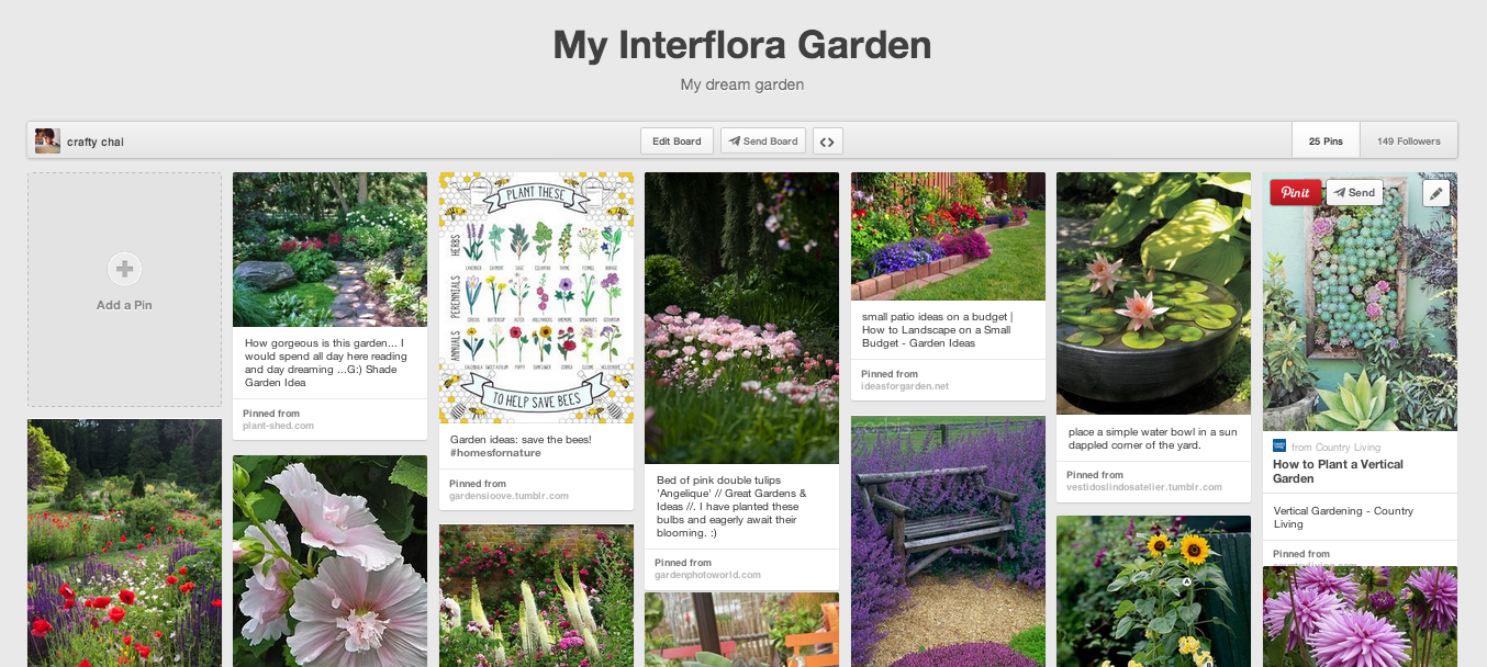 My Interflora Garden