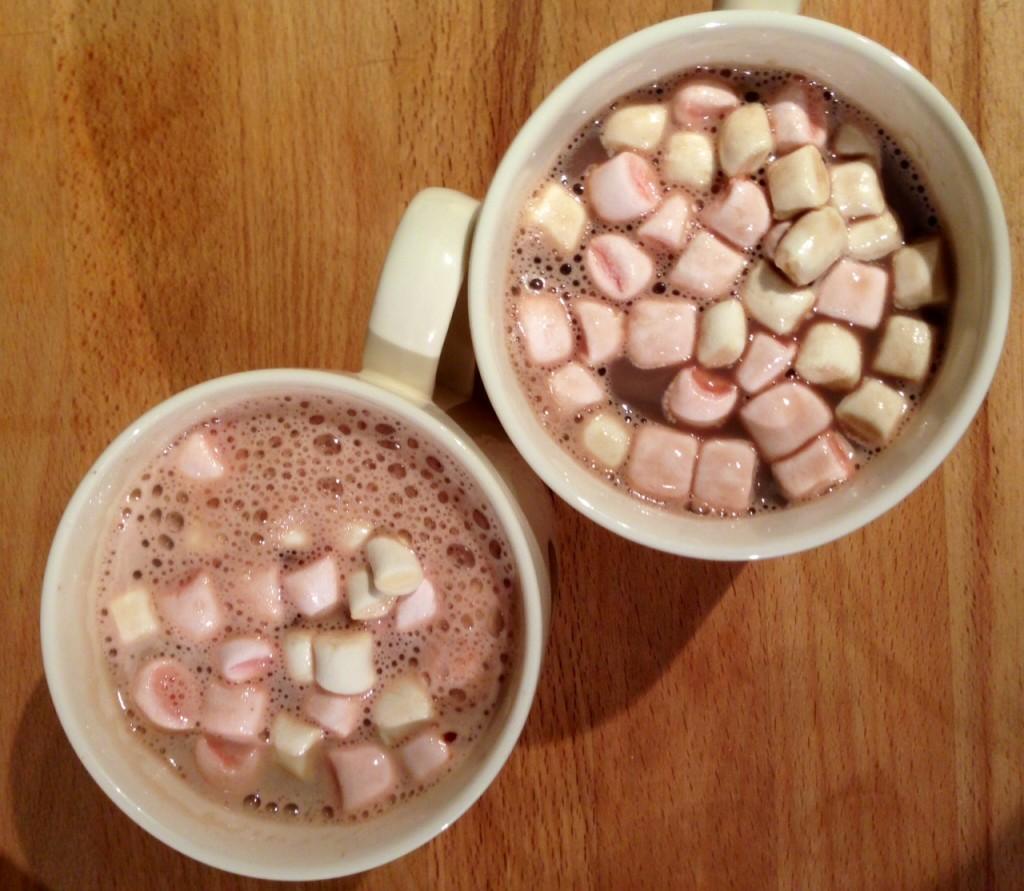 marshmallow hot choc
