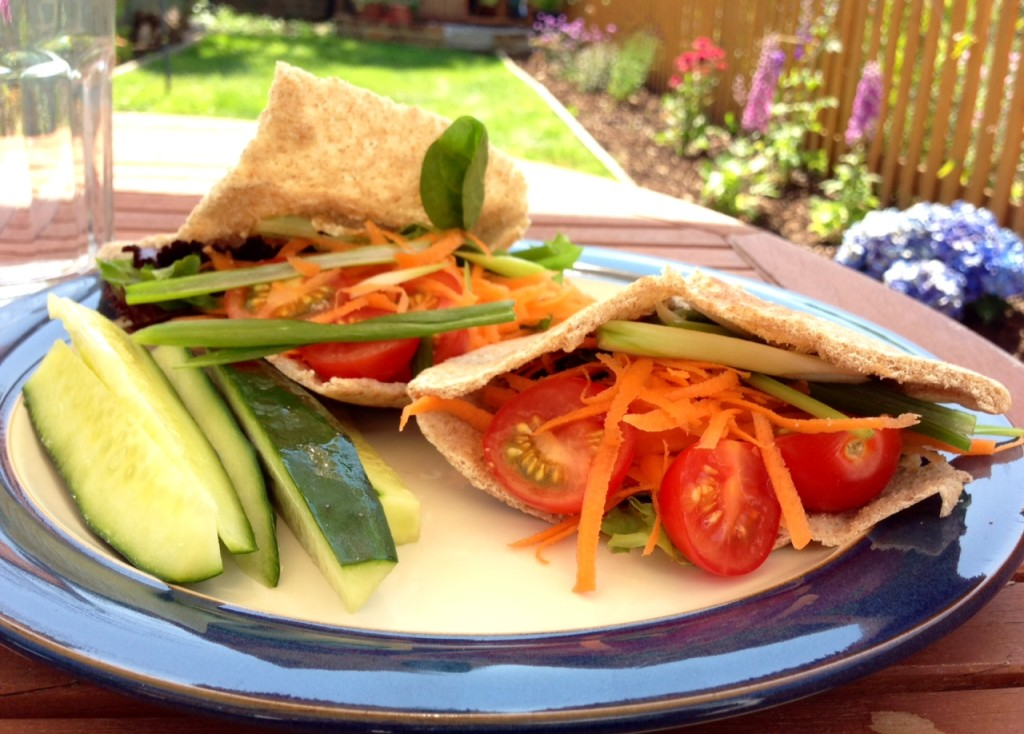 salad pittas