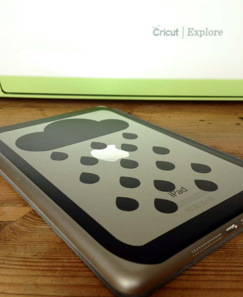 ipad vinyl with cricut explore