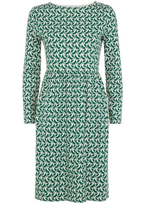 Orla Kiely Birdwatch Gathered Dress