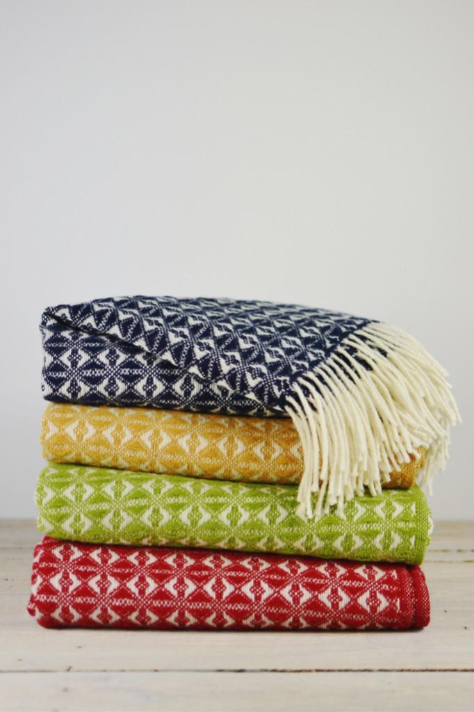 Cobweave Welsh wool blankets