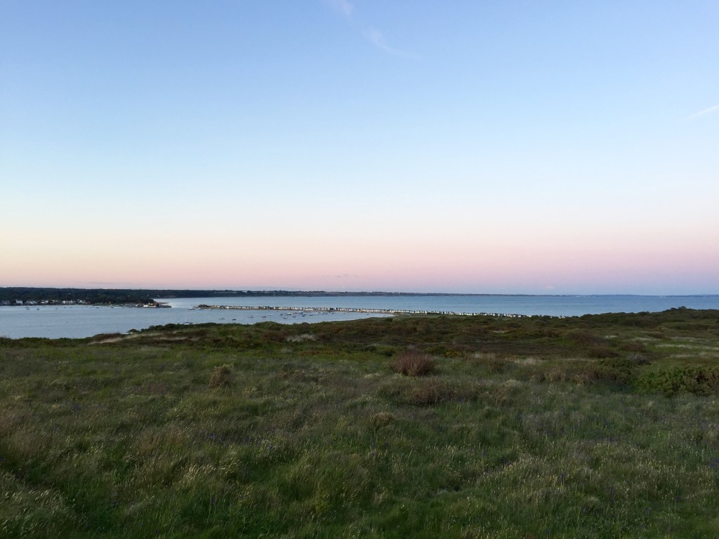 Hengistbury Head at sunset