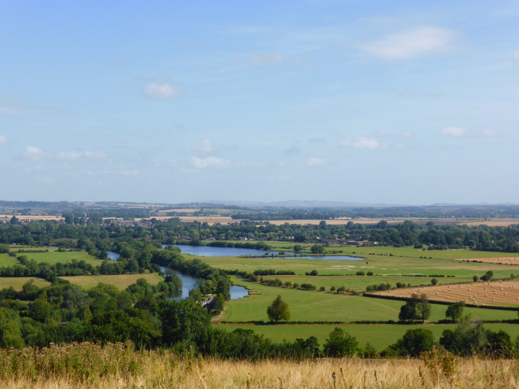 View from Wittenham Clumps