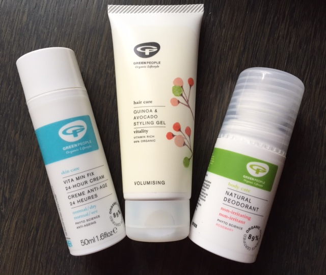Green People Beauty products