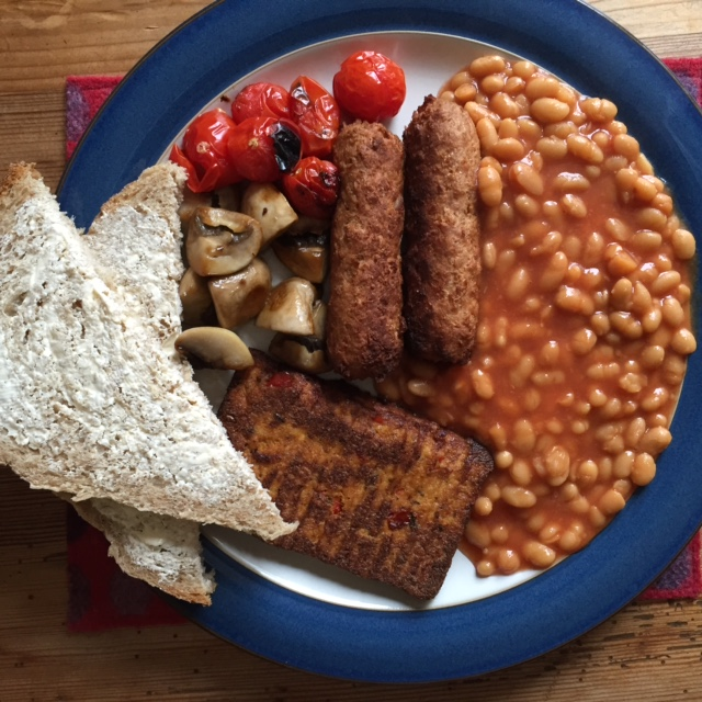 Vegan Cooked Breakfast