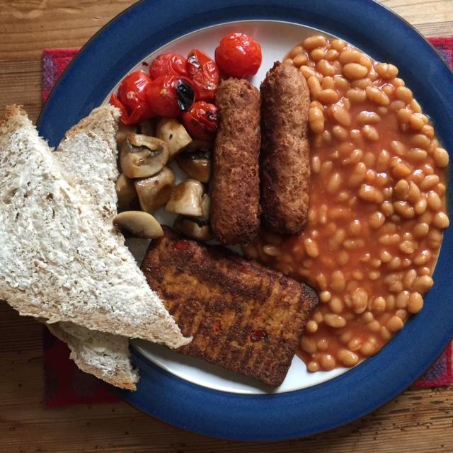 Vegan Cooked Breakfast