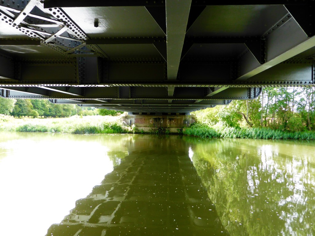 Railway bridge over the Thames