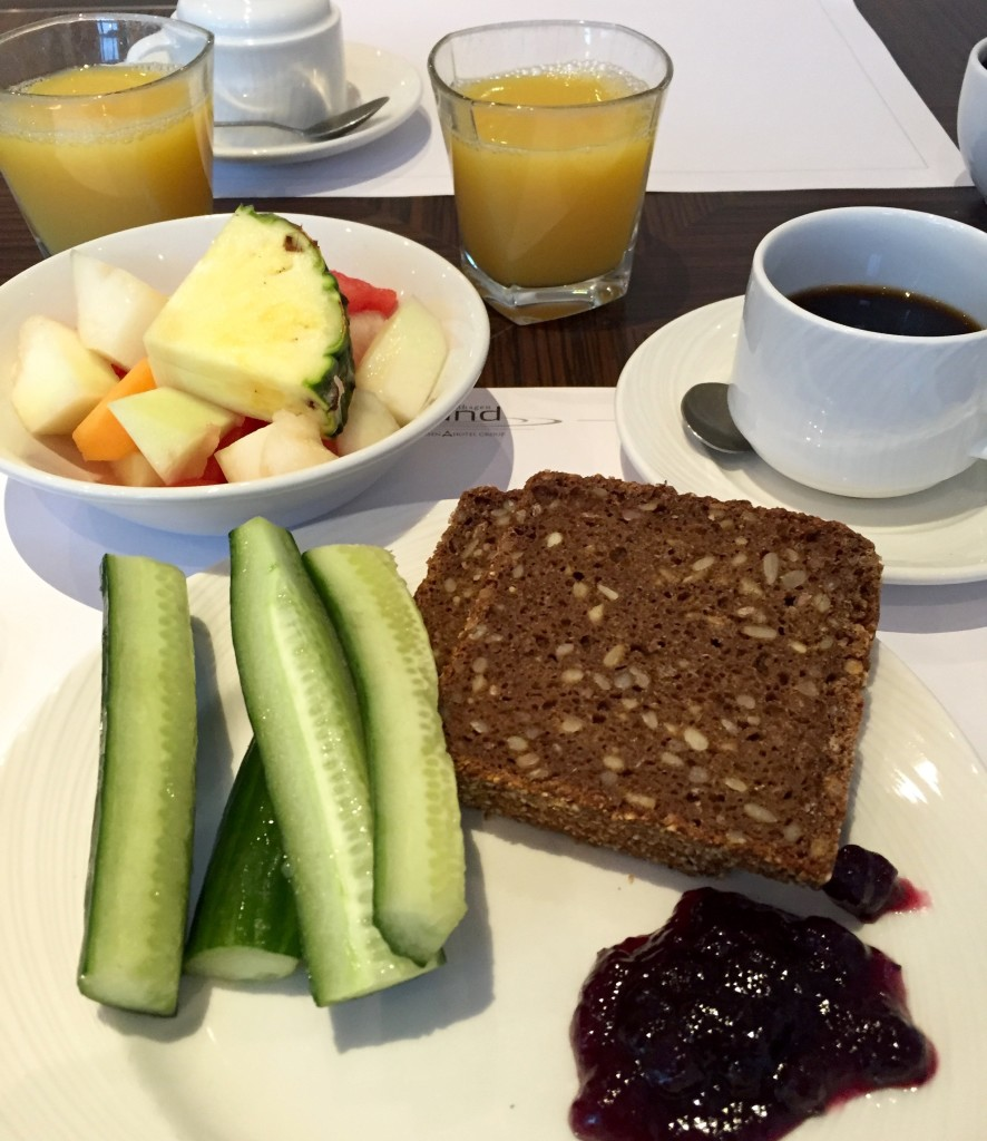 Breakfast at Island Hotel Copenhagen