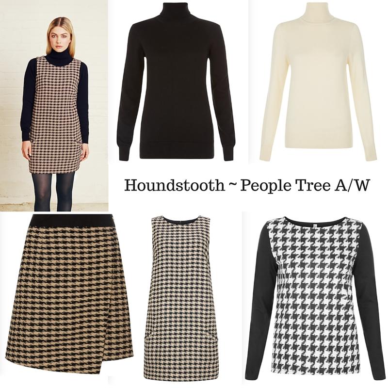 Houndstooth ~ People Tree A_W 2015