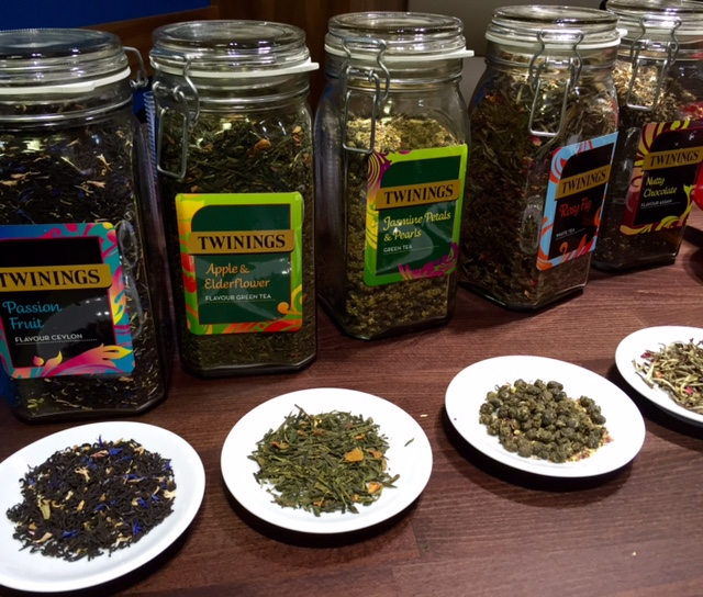 Tea testing at Boswells
