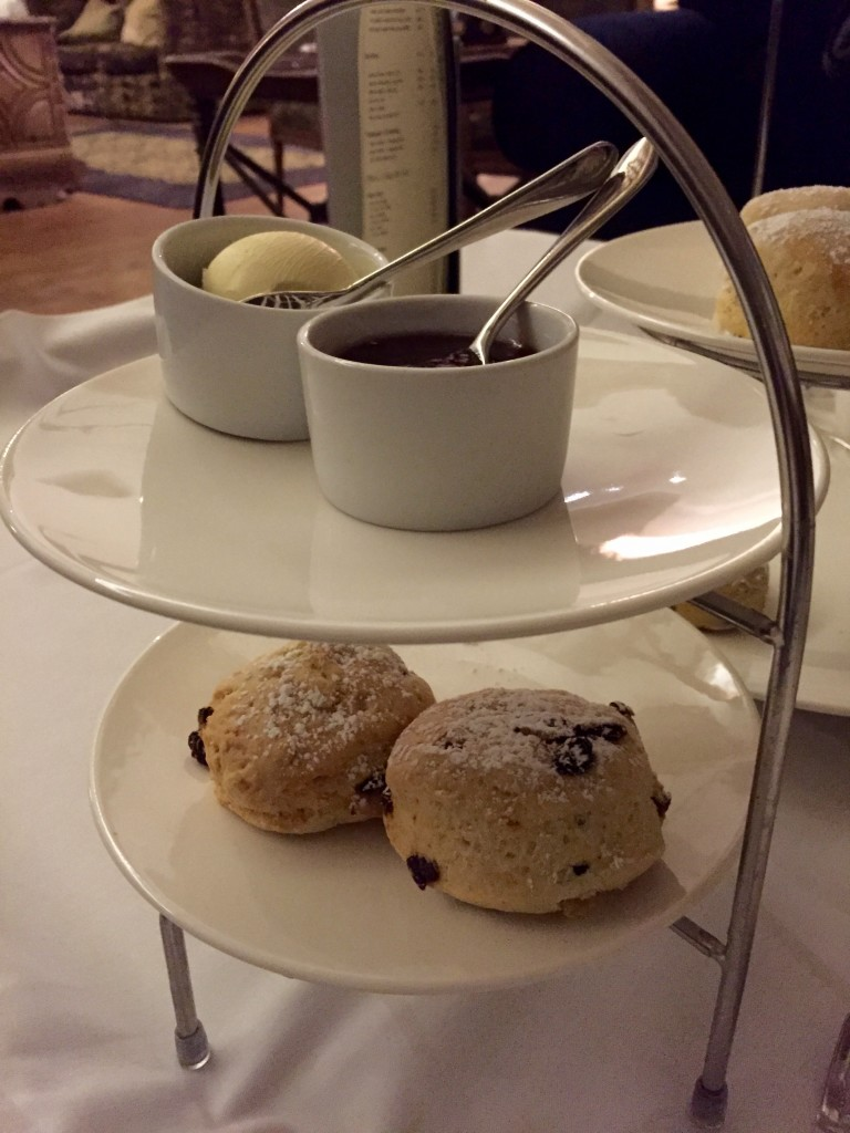 Vegan cream tea