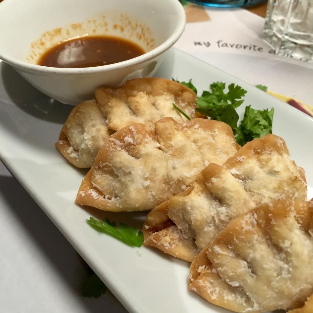 Yasai steamed gyoza