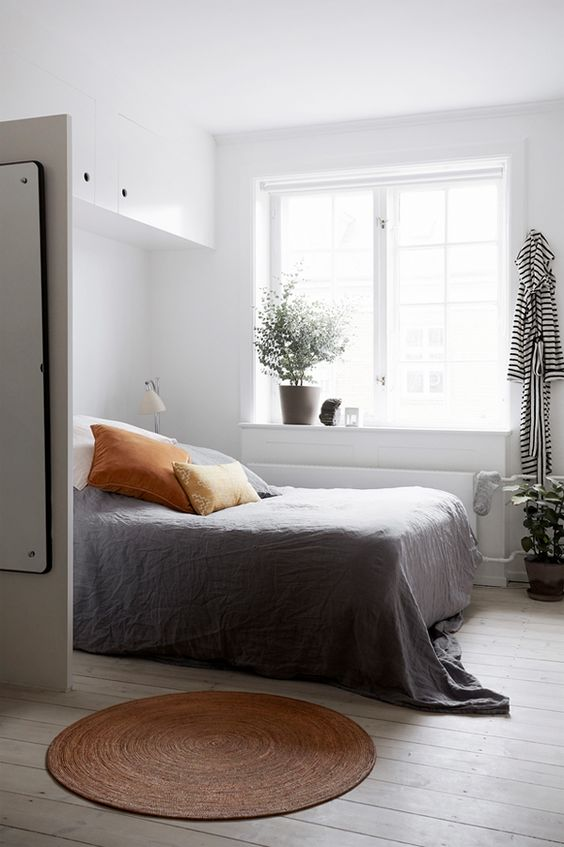 Style Files white bedroom