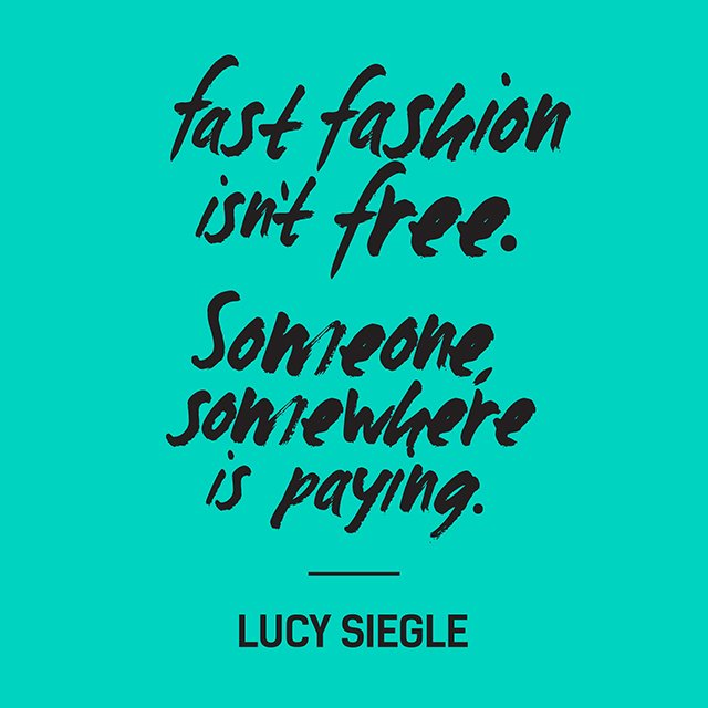 Fast fashion isn't free