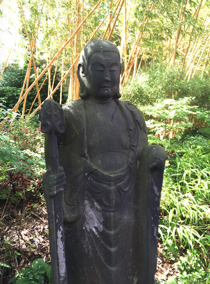 Buddha Statue at Compton Acres