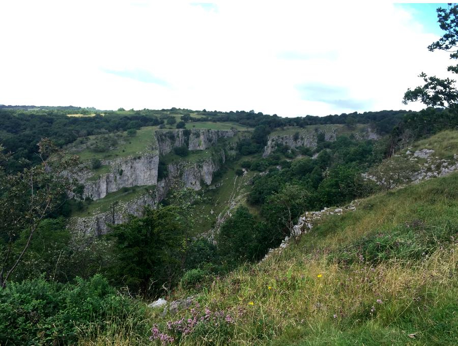 The Cheddar Gorge