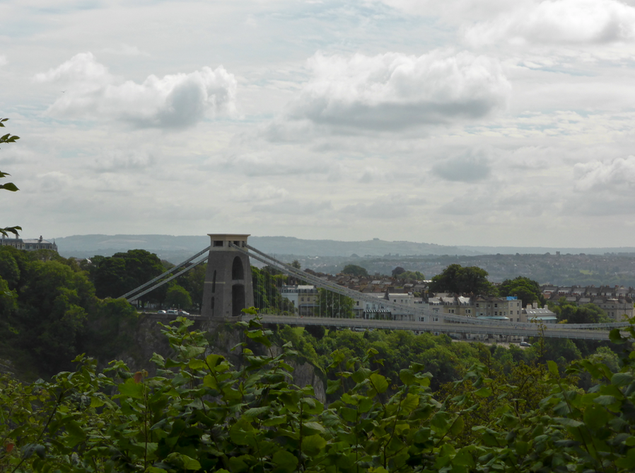 View of Bristol Suspension Bridge