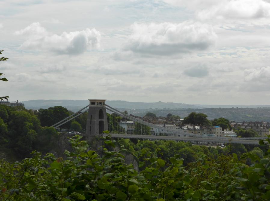 View of Bristol Suspension Bridge